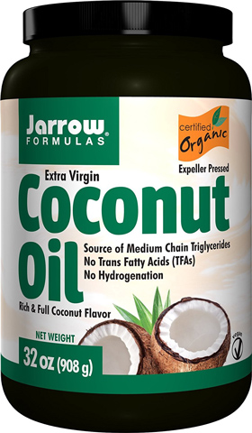 2. Coconut Oil 100% Organic Extra Virgin,