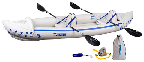 7. Inflatable Kayak w/ Pro Package