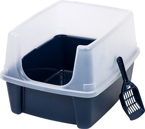 5. Cat Litter Box Kit w/ Shield and Scoop