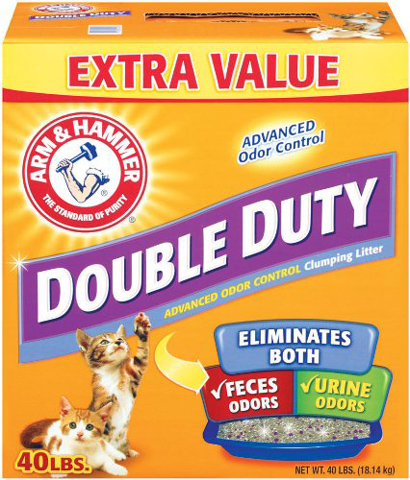 9. Arm & Hammer Double Duty Clumping Litter