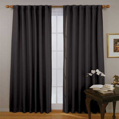 2. Eclipse Fresno Blackout Window Curtain, 52 by 84-Inch