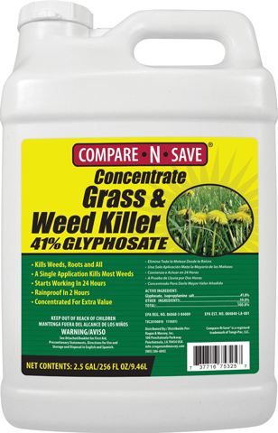 4. Concentrate Grass & Weed Killer, 2.5-Gallon