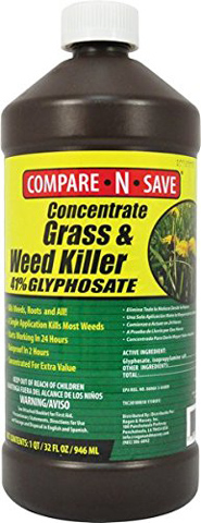 5. Concentrate Grass & Weed Killer, 32-Ounce