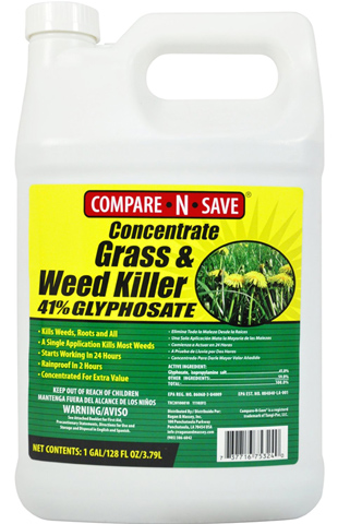 10. Concentrate Grass and Weed Killer