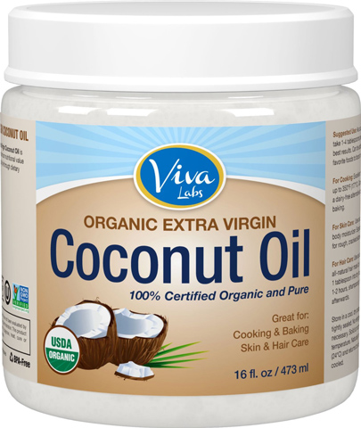 10. Viva Labs Finest Organic Virgin Coconut Oil