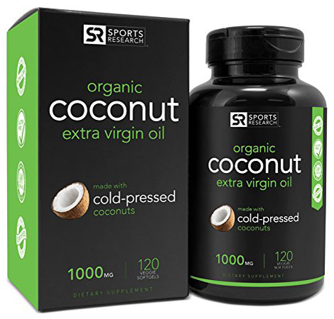 4. Organic Coconut Oil 1000mg