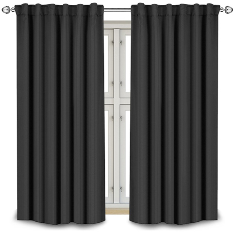 1. Curtains Window Panel Drapes