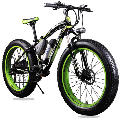 8. Richbit Green Electric Bike TP12