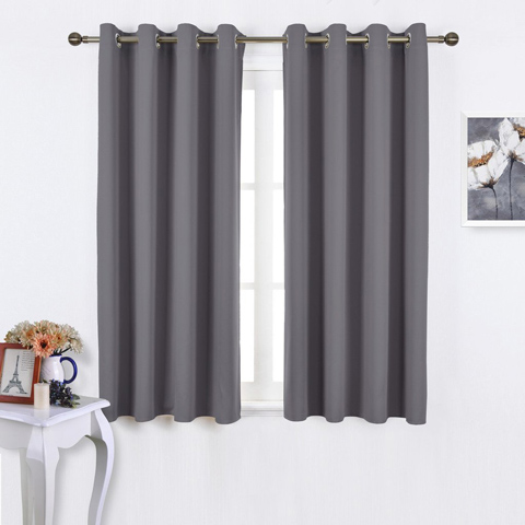 5. NICETOWN 2 Set Blackout Curtains