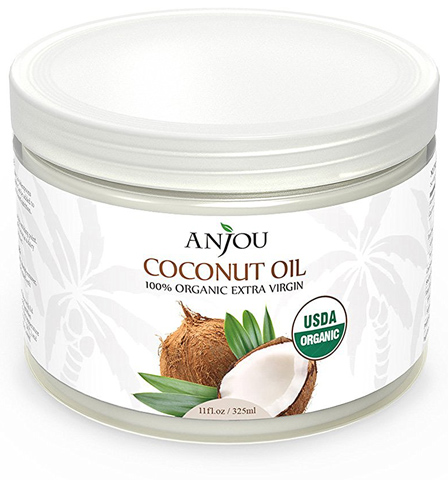 7. Anjou Coconut Oil