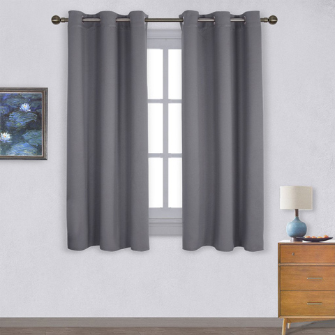 6. Nicetown Insulated Blackout Curtains