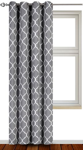 3. Blackout Darkening Printed Curtains
