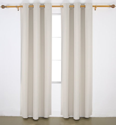 9. Blackout Grommet Window Curtain