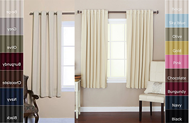 Top 10 Best Blackout Curtains Design in 2019 Reviews