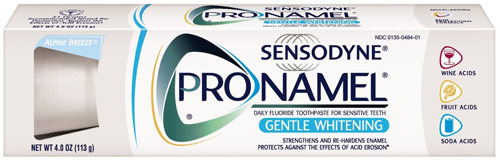 7. Pronamel Gentle Whitening Toothpaste