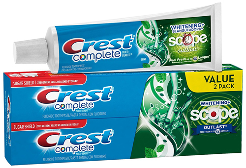 2. Whitening Toothpaste Mint 5.8 Ounce