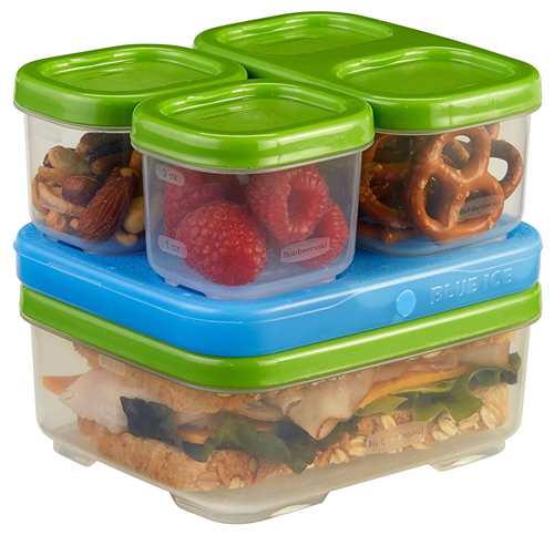 9. Rubbermaid LunchBox Sandwich Kit