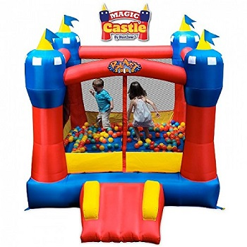 8. Blast Zone Magic Castle Inflatable Bouncer