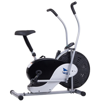 9.Body Rider Exercise Upright Fan Bike (with UPDATED Softer Seat)