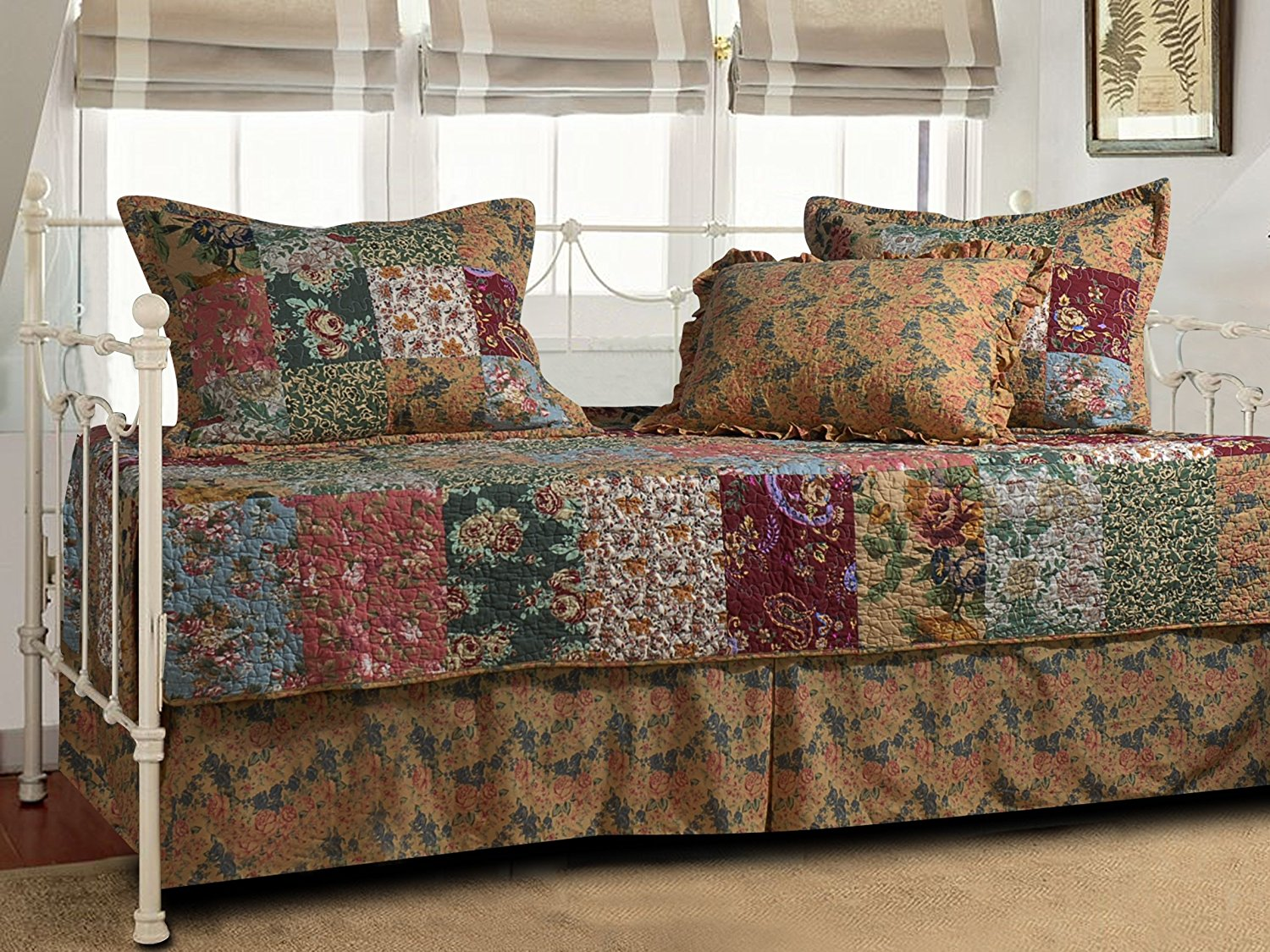 8. Greenland Home Antique Chic Daybed Set