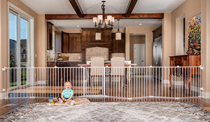 4. Regalo 192-Inch Super Wide Gate and Play Yard