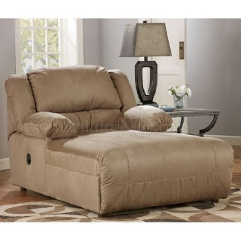 6. Ashley Signature Design Hogan Contemporary Chaise: