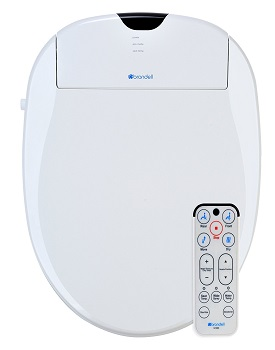 10. Brondell S1000-EW Swash 1000 Advanced Bidet Elongated Toilet Seat