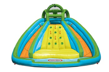 2. Little Tikes Rocky Mountain River Race Inflatable Slide Bouncer