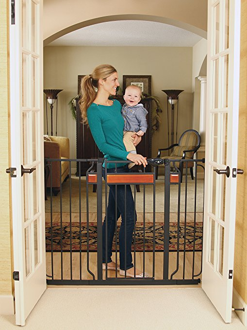 9. Regalo Home Accents Extra Tall Walk Thru Gate
