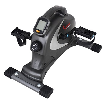 4. Sunny Health & Fitness SF-B0418 Magnetic Mini Exercise Bike