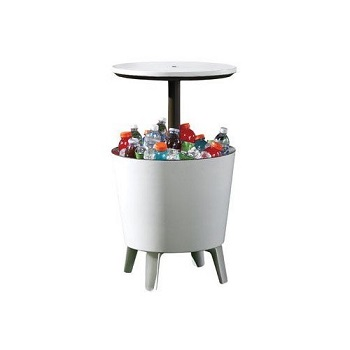 7. Keter Patio Bar Table, Cool Bar Table
