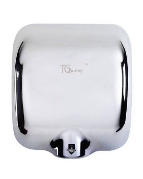 6. Bunny (1 Pack) Heavy Duty 1800 Watts High-Speed Automatic Hot Commercial Hand Dryer
