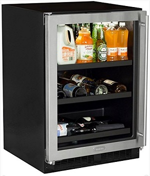10. Marvel ML24BCG1LS Beverage Center