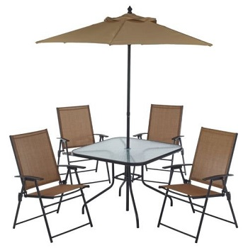 5. Outdoor Folding Patio Dining Set