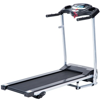 6. Merax JK1603 Easy Assembly Folding Electric Treadmill