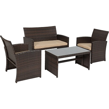 1. Wicker Outdoor Patio Furniture