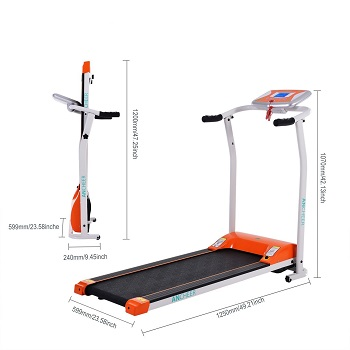 9. ANCHEER S8400 Electric Treadmill