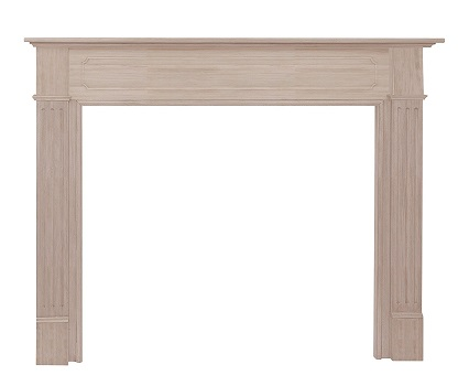 6. Pearl Mantels 110-50 Williamsburg 50-Inch Fireplace Mantel