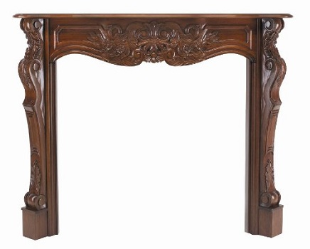 4. Pearl Mantels 134-48-30 Deauville 48-Inch Fireplace Mantel