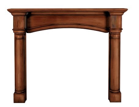 7. Pearl mantels 159-48-70 the Princeton 48-Inch Fireplace Mantel Surround.