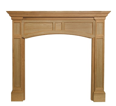 10. Pearl Mantels 160-48 Vance 48-Inch Fireplace Mantel.