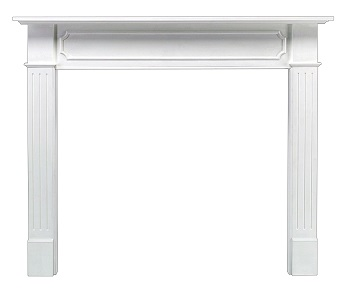5. Pearl Mantels 520-48 Berkley 48-Inch Paint Grade Fireplace Mantel