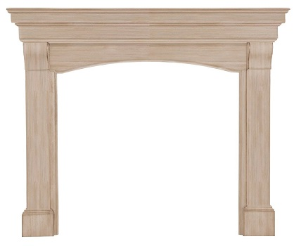8. Pearl Mantels 195-48 Blue Ridge 48- Inch Fireplace Mantel.
