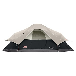 8. Coleman 8-Person Red Canyon Tent