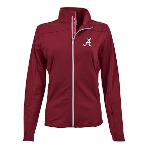 2. Levelwear NCAA Ladies Aurora Team Text Full Zip