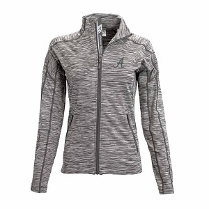 3. Levelwear NCAA Ladies Atlantis Shear Script Full Zip