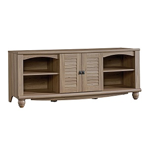 1. Sauder Harbor View Entertainment Credenza Sao