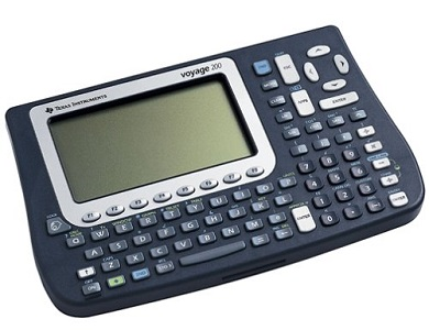 10. Texas Instruments VOY200/PWB Graphing calculator