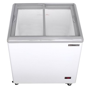2. Maxx Cold MXF31F Commercial Mobile Ice Cream Display Freezer