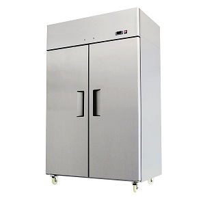 6. 2-Door Stainless Steel Reach-In Commercial Freezer MBF-8002